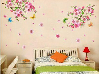 Bí quyết trang trí decal dán tường