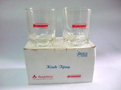 Decal nước in ly thủy tinh