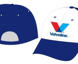 In logo màu ép mũ nón vải